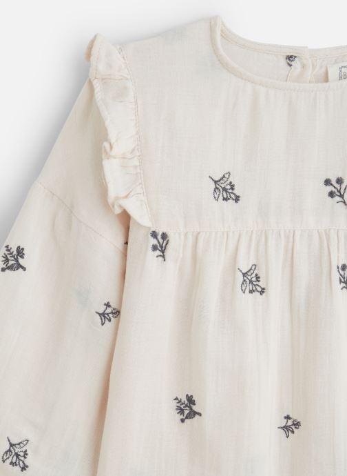 Vêtements Bonheur du Jour Ophrys Blanc vue portées chaussures