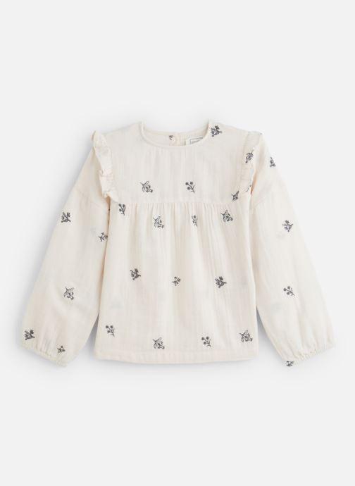 Vêtements Bonheur du Jour Ophrys Blanc vue détail/paire