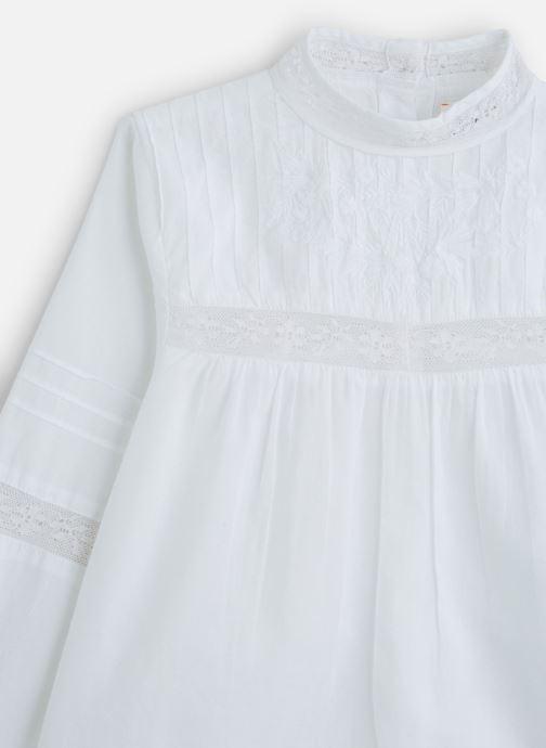 Vêtements Bonheur du Jour Adalie Blanc vue portées chaussures