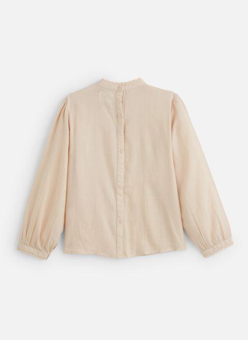 Vêtements Bonheur du Jour Vintage Blouse Rose vue bas / vue portée sac