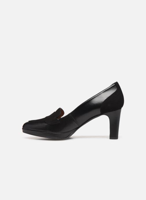 Zapatos de tacón Georgia Rose Eufia Negro vista de frente