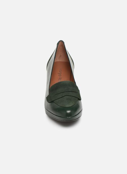 Zapatos de tacón Georgia Rose Eufia Verde vista del modelo