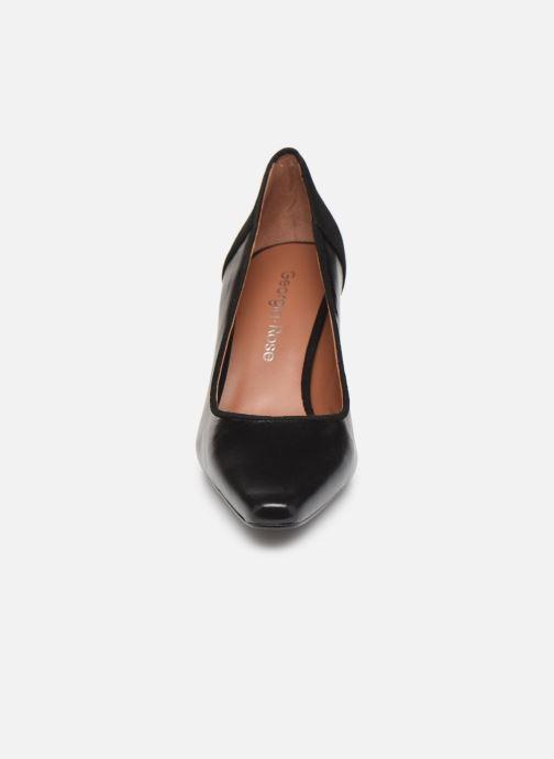 Zapatos de tacón Georgia Rose Esquisa Negro vista del modelo