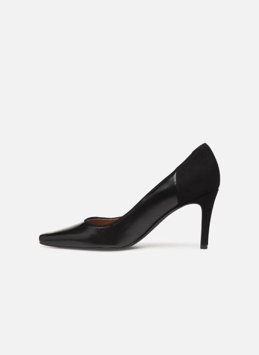 Zapatos de tacón Georgia Rose Esquisa Negro vista de frente