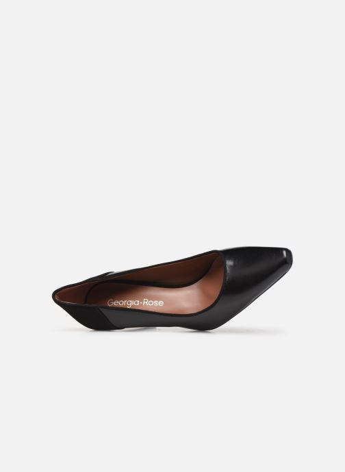 Zapatos de tacón Georgia Rose Esquisa Negro vista lateral izquierda