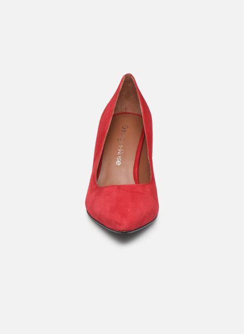 Décolleté Georgia Rose Estria Rosso modello indossato