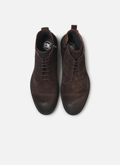 Bottines et boots Mr SARENZA Noxal Marron vue portées chaussures