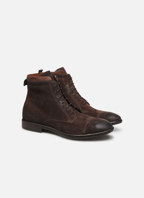 Boots en enkellaarsjes Mr SARENZA Noxal Bruin achterkant