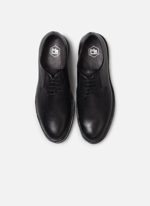 Zapatos con cordones Mr SARENZA Nodal Negro vista del modelo