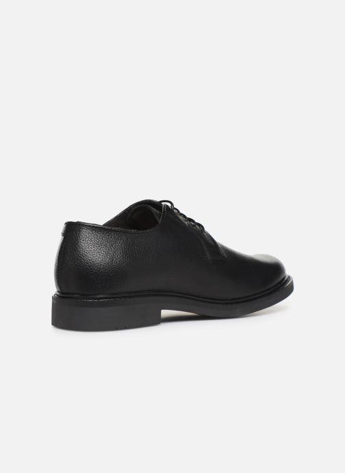 Zapatos con cordones Mr SARENZA Nodal Negro vista de frente