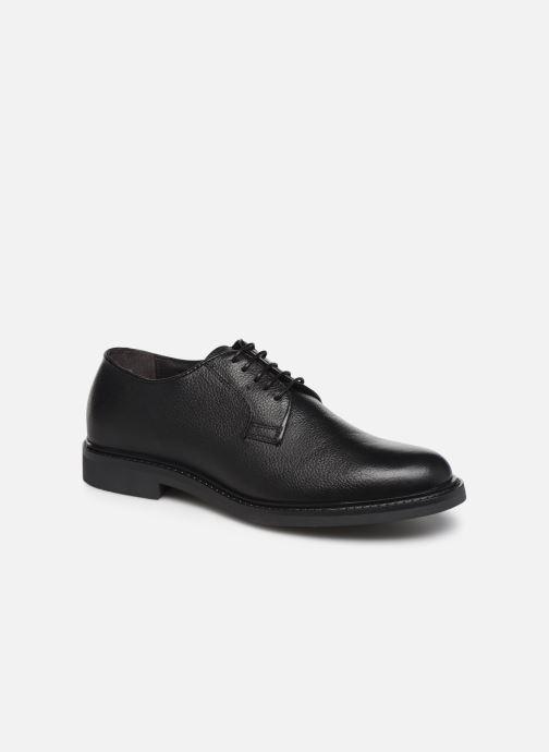 Zapatos con cordones Mr SARENZA Nodal Negro vista lateral derecha