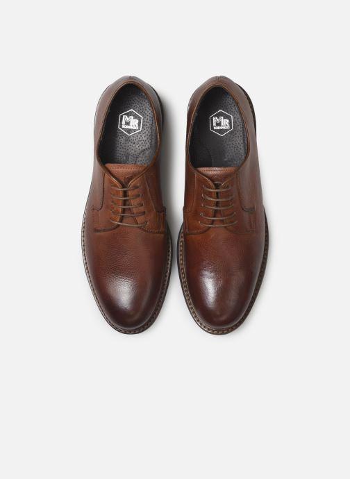 Chaussures à lacets Mr SARENZA Navel Marron vue portées chaussures