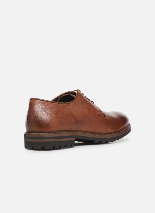 Chaussures à lacets Mr SARENZA Navel Marron vue face