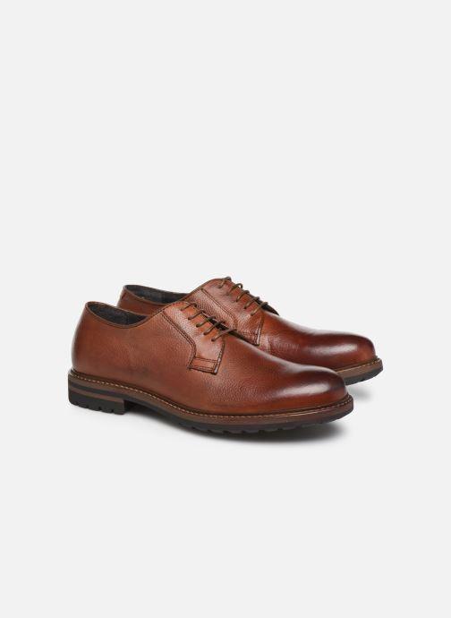 Chaussures à lacets Mr SARENZA Navel Marron vue derrière