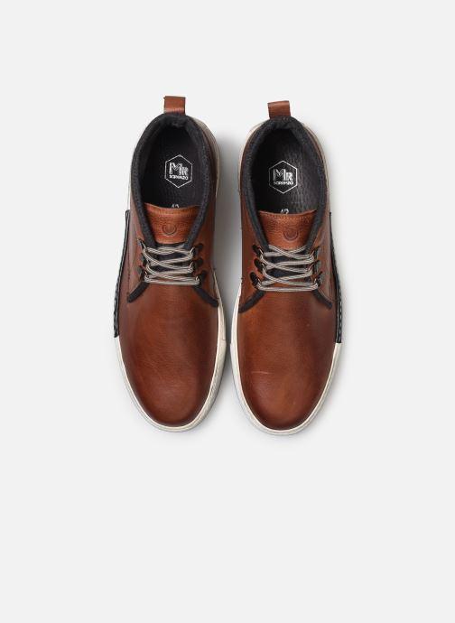 Sneakers Mr SARENZA Nipa Marrone modello indossato