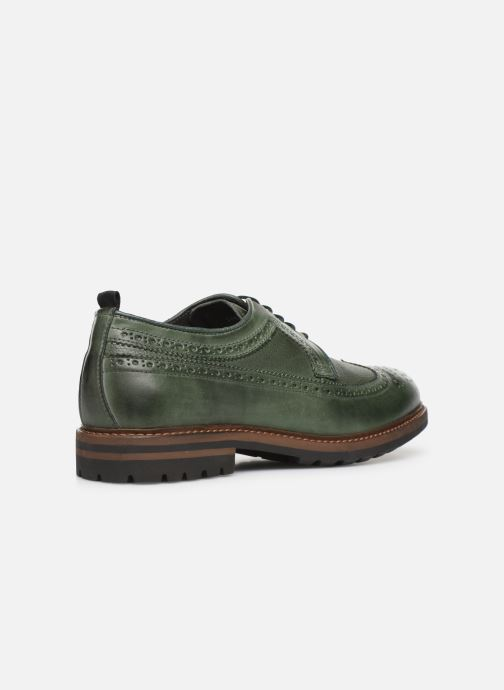 Zapatos con cordones Mr SARENZA Nolis Verde vista de frente