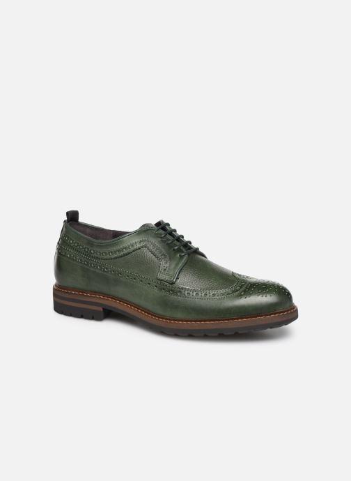 Zapatos con cordones Mr SARENZA Nolis Verde vista lateral derecha