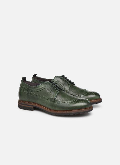 Zapatos con cordones Mr SARENZA Nolis Verde vistra trasera