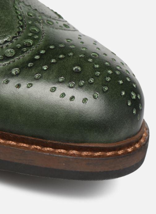 Zapatos con cordones Mr SARENZA Nolis Verde vista lateral izquierda