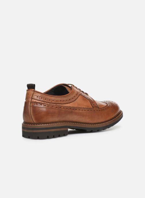 Chaussures à lacets Mr SARENZA Nolis Marron vue face