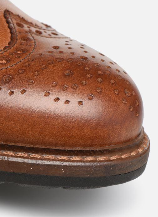 Chaussures à lacets Mr SARENZA Nolis Marron vue gauche