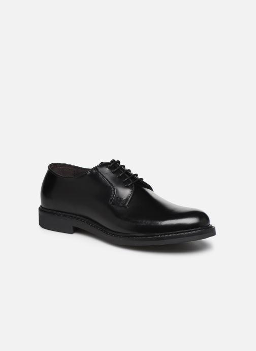 Zapatos con cordones Mr SARENZA Noc Negro vista lateral derecha