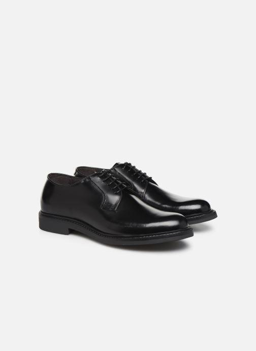 Zapatos con cordones Mr SARENZA Noc Negro vistra trasera