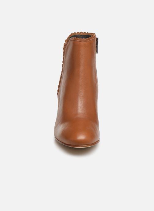 Bottines et boots Georgia Rose Lupa Marron vue portées chaussures