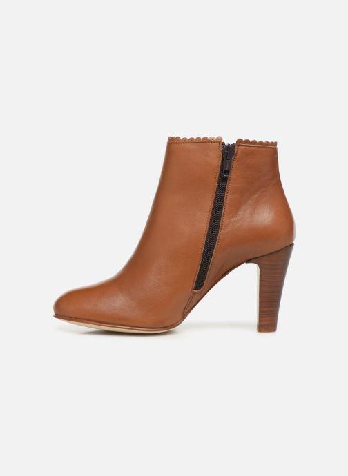 Bottines et boots Georgia Rose Lupa Marron vue face