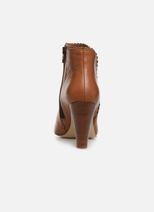 Bottines et boots Georgia Rose Lupa Marron vue droite