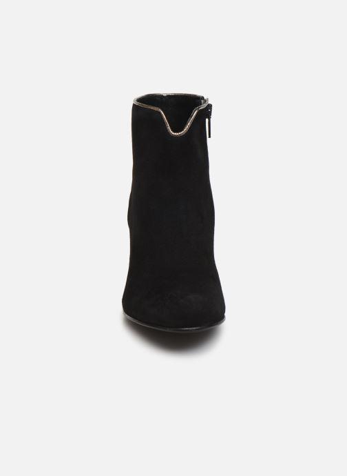 Bottines et boots Georgia Rose Lilly Noir vue portées chaussures