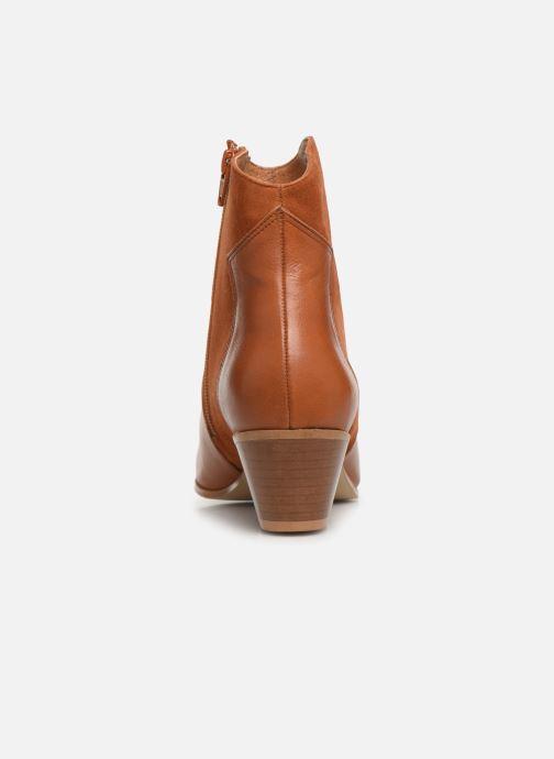 Bottines et boots Georgia Rose Lalo Marron vue droite