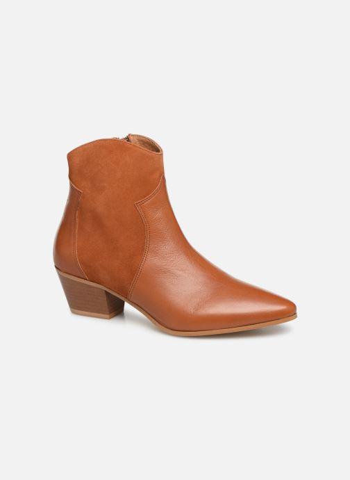 Bottines et boots Georgia Rose Lalo Marron vue détail/paire