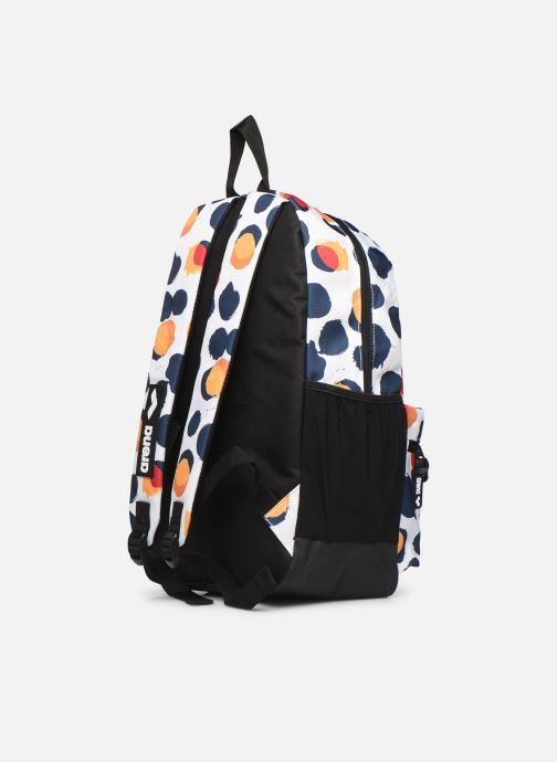 Sacs à dos Arena TEAM BACKPACK 30 ALLOVER Blanc vue droite