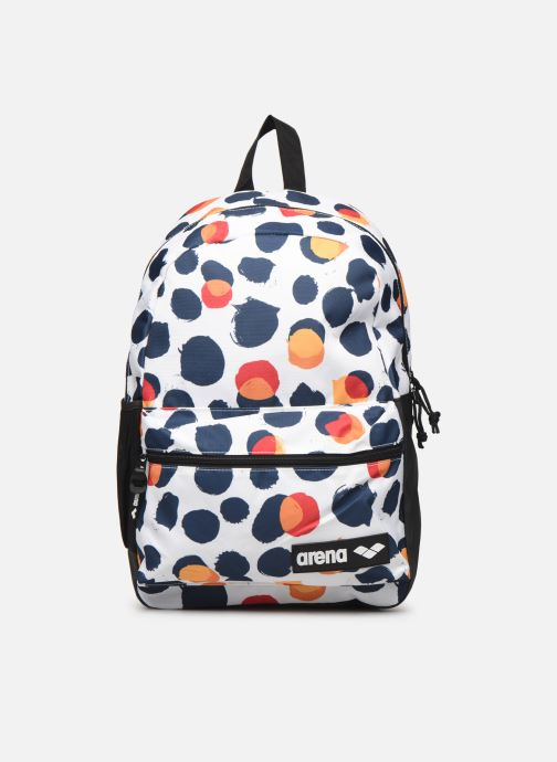 Sacs à dos Arena TEAM BACKPACK 30 ALLOVER Blanc vue détail/paire