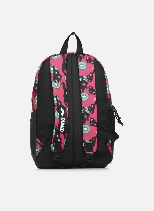 Mochilas Arena TEAM BACKPACK 30 ALLOVER Rosa vista de frente
