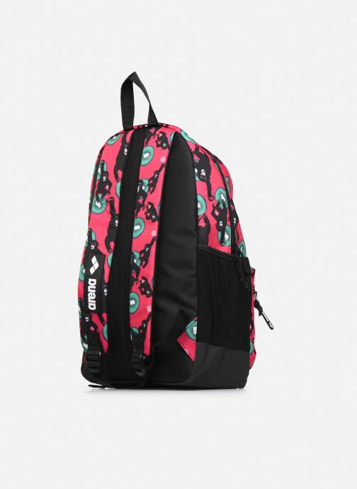 Mochilas Arena TEAM BACKPACK 30 ALLOVER Rosa vista lateral derecha