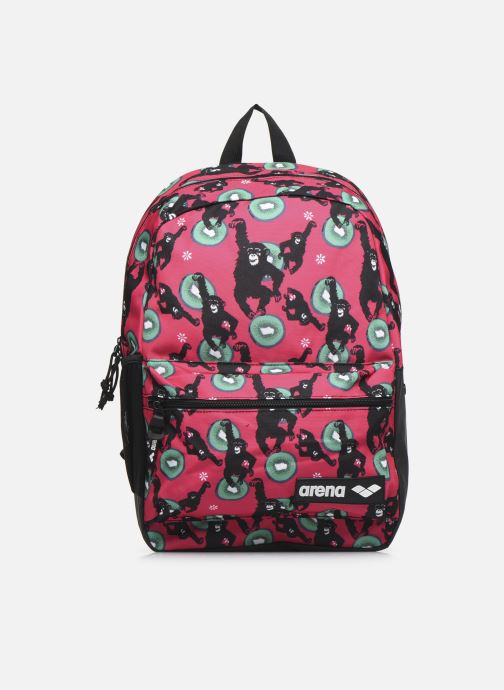 Mochilas Arena TEAM BACKPACK 30 ALLOVER Rosa vista de detalle / par