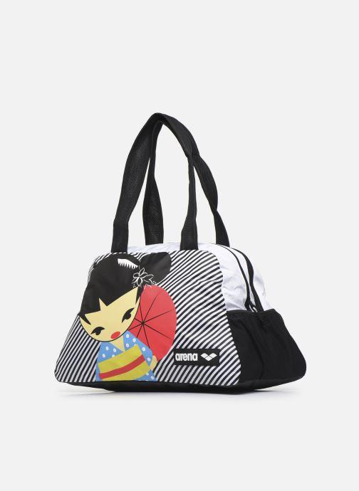 Bolsas de deporte Arena Fast Shoulder Bag Allover Negro vista del modelo