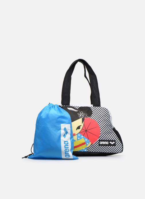 Bolsas de deporte Arena Fast Shoulder Bag Allover Negro vista lateral izquierda