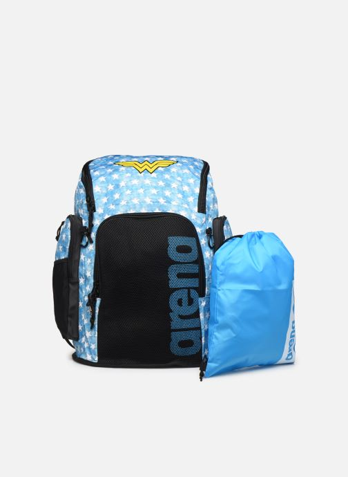 Rucksacks Arena HEROES TEAM 45 BACKPACK Blue view from the left