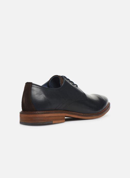 Chaussures à lacets Mr SARENZA WIVRE Bleu vue face