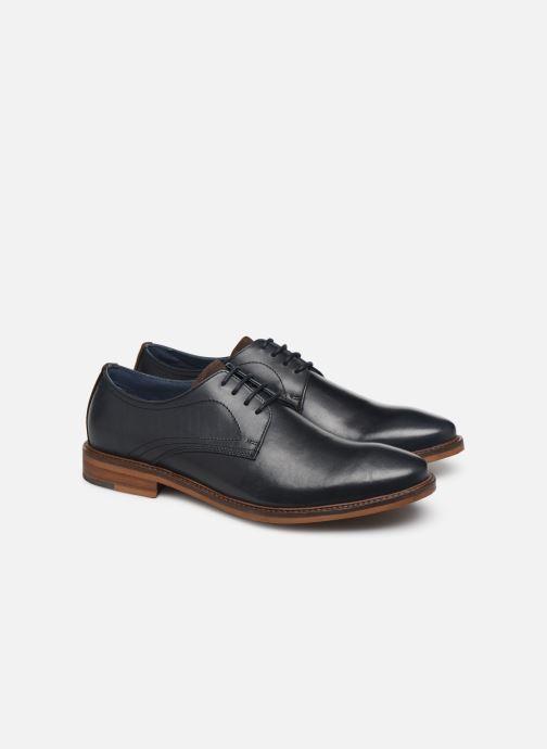 Chaussures à lacets Mr SARENZA WIVRE Bleu vue derrière