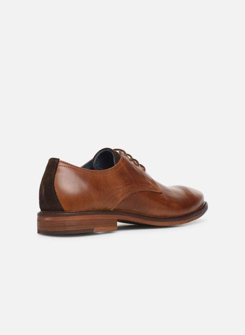 Lace-up shoes Mr SARENZA WIVRE Brown front view