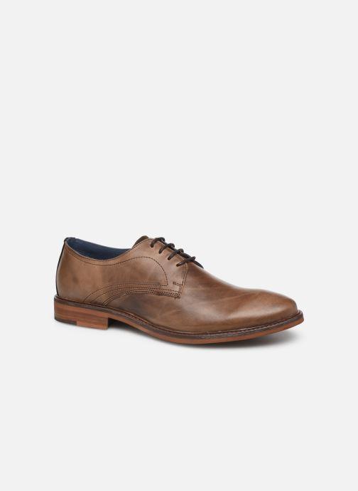 Zapatos con cordones Mr SARENZA WIVRE Marrón vista lateral derecha