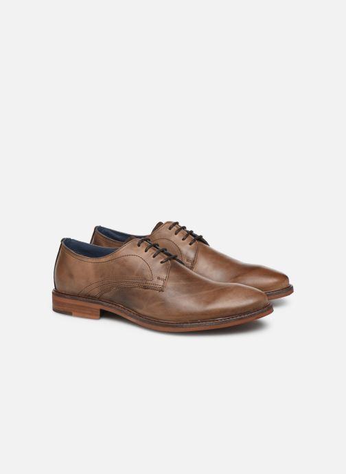 Zapatos con cordones Mr SARENZA WIVRE Marrón vistra trasera