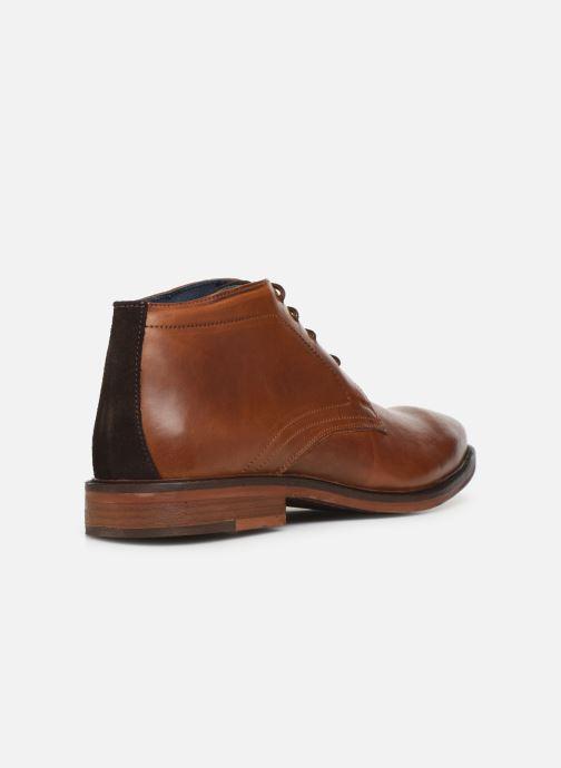 Bottines et boots Mr SARENZA WAVE Marron vue face