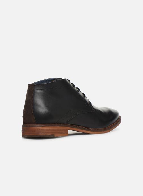 Bottines et boots Mr SARENZA WAVE Noir vue face