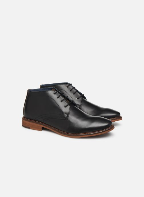 Bottines et boots Mr SARENZA WAVE Noir vue derrière
