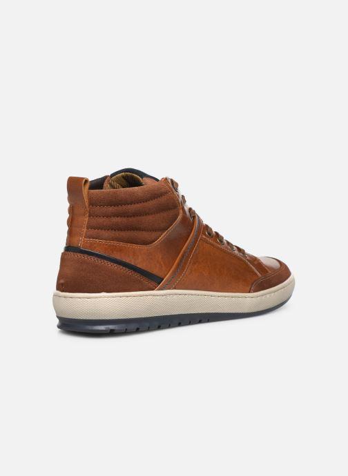 Sneakers Mr SARENZA WAMBA Marrone immagine frontale